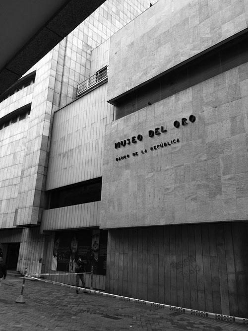 Blaa y Museo del Oro